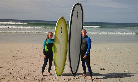 Robbie's Surfing Lessons